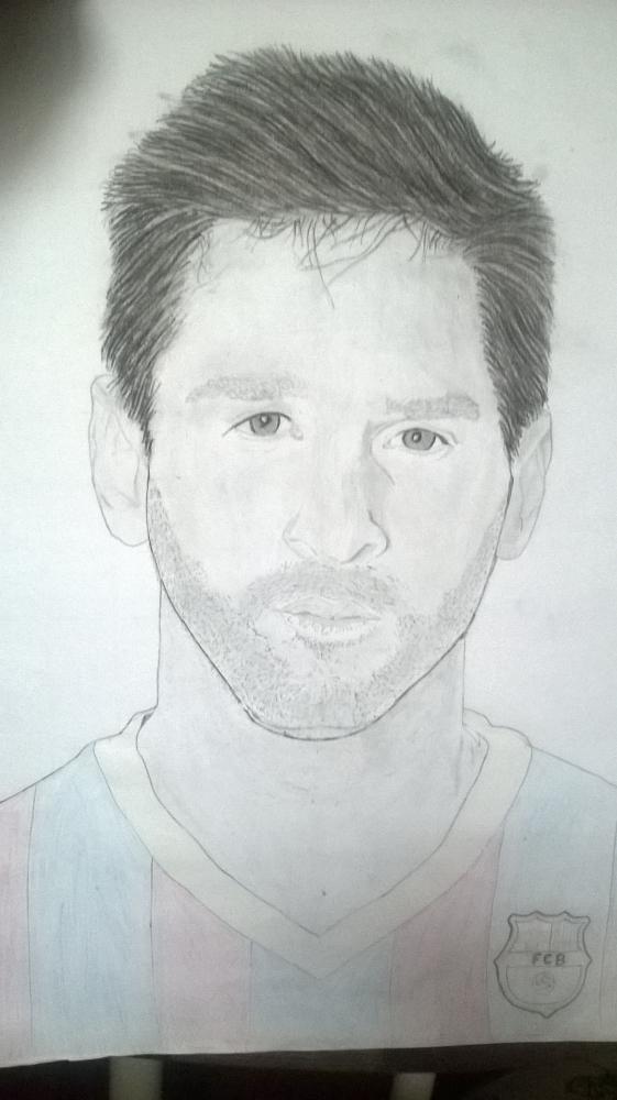 Lionel Messi by Kennybx